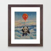 Balloon Ride Framed Art Print