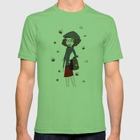 Have A Break, Have A Cup… Mens Fitted Tee Grass SMALL