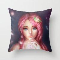 Fluttershy Throw Pillow