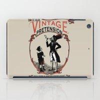 Ye Oldé Vintage Pretens… iPad Case