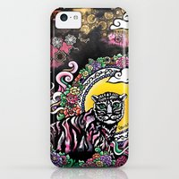 iPhone Cases featuring Nepalese Tiger by EllensArt