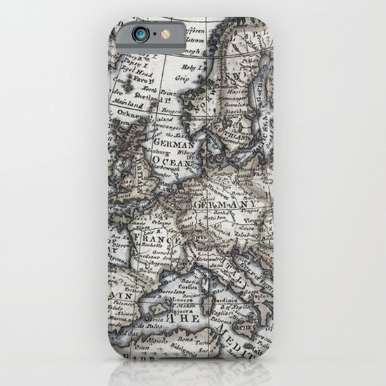 Old World Map iPhone & iPod Case