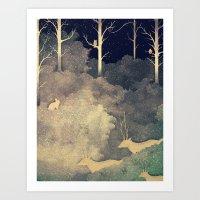 Winter Song Art Print