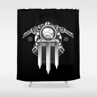 Keep Us on the Road Shower Curtain