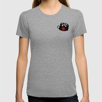 Love From Me To You Womens Fitted Tee Tri-Grey SMALL