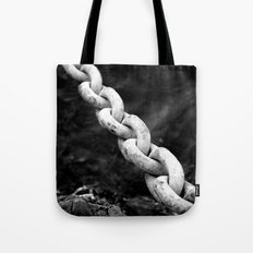 A chain to far... Again Tote Bag