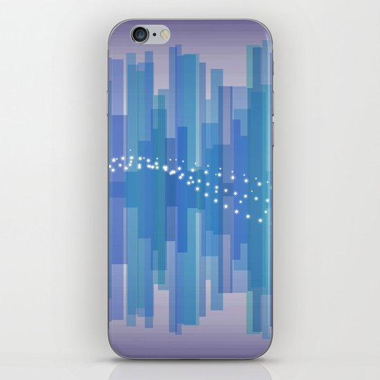 Blasting Waves iPhone & iPod Skin
