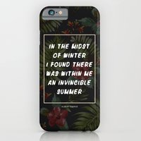 iPhone & iPod Case featuring Invincible Summer by Galaxy Eyes