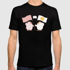 breakfast SMALL Black Mens Fitted Tee