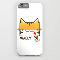 iPhone & iPod Case featuring Convo Cats! Wally by NearlyFarley