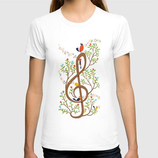 Song birds T-shirt