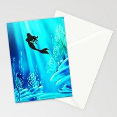Beauty Mermaid Stationery Cards