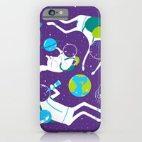 A Day Out In Space - Pur… iPhone 6 Slim Case