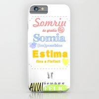 iPhone & iPod Case featuring {CAT} SOMRIU · SOMIA · ESTIMA by Nhani · Graphic Design & Photography
