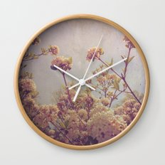 Here and Gone Wall Clock