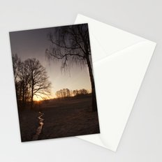 Sunrise in Rybnik Stationery Cards