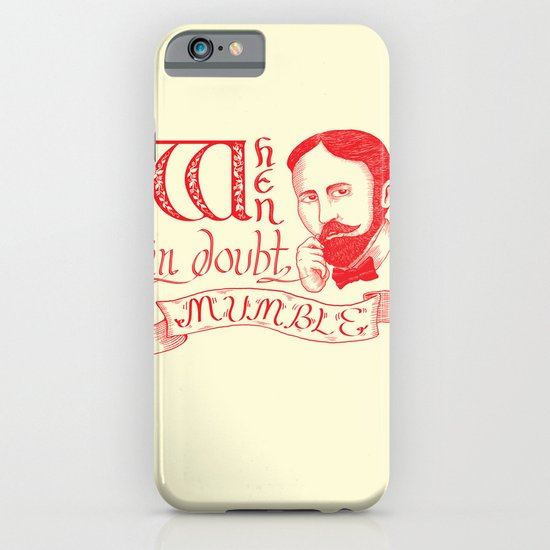 Mumble iPhone & iPod Case