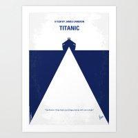No100 My Titanic Minimal… Art Print