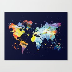 THE COLORFUL WORLD Canvas Print