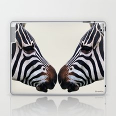 Zebra Love Laptop & iPad Skin