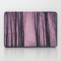 Woods Red iPad Case