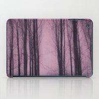 Woods red iPad Case
