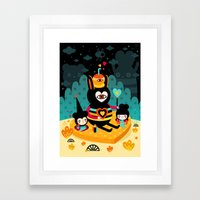 There's Something About … Framed Art Print