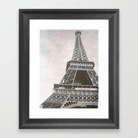 Untitled (Eiffel Tower) Framed Art Print