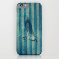 seagull in cyan iPhone 6 Slim Case