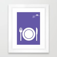 06_Webdings_E4 Framed Art Print