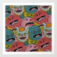GhoulieBall Art Print
