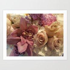 Stolen Flowers  Art Print