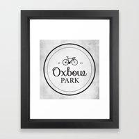 Oxbow Park Framed Art Print