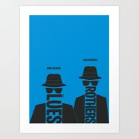 The Blues Brothers Minim… Art Print