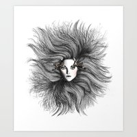 Fashion Illustration - W… Art Print
