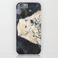 Polar Bear (night Hunt) iPhone 6 Slim Case