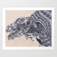 Deep Sea Creature Art Print