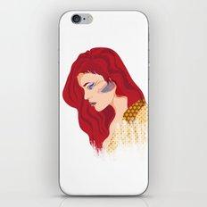 Glam Red Rock iPhone & iPod Skin
