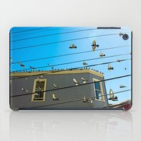 Doves And Wire#3 iPad Case