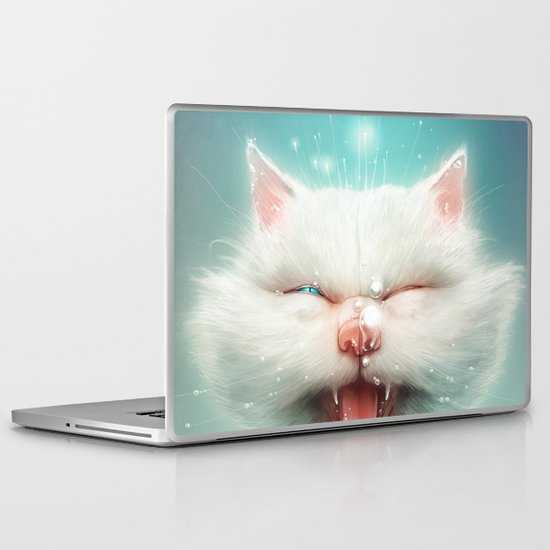 The Water Kitty Laptop & iPad Skin