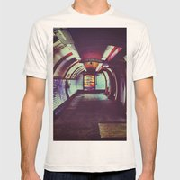 Though the tunnel Mens Fitted Tee Natural SMALL