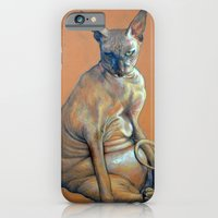 iPhone & iPod Case featuring Mad Catter by Emily A Robertson