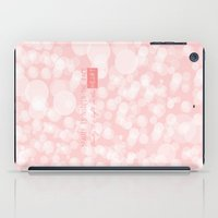 Beauty is not in the face; beauty is a light in the heart. iPad Case