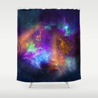 Spaceology Shower Curtain