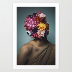 Blooming. Art Print