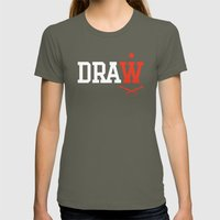 DRAW Womens Fitted Tee Lieutenant SMALL