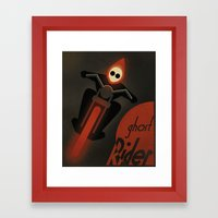 CASSANDRE SPIRIT - Ghost Rider2 Framed Art Print