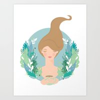 That first cuppa tea feeling Art Print