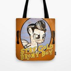Stay Gold Brony Boy Tote Bag