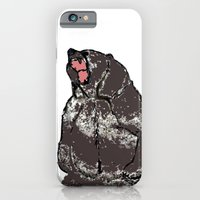 iPhone & iPod Case featuring He's a bear in a bad mood by MadamSalami